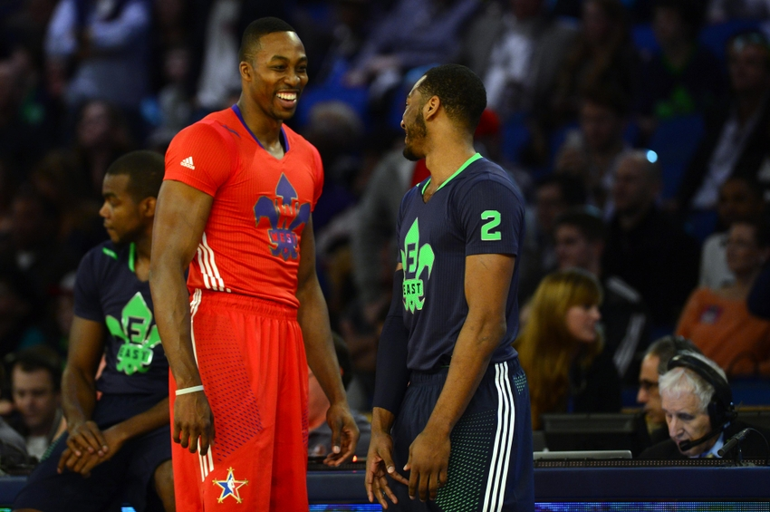 Image result for john wall dwight howard