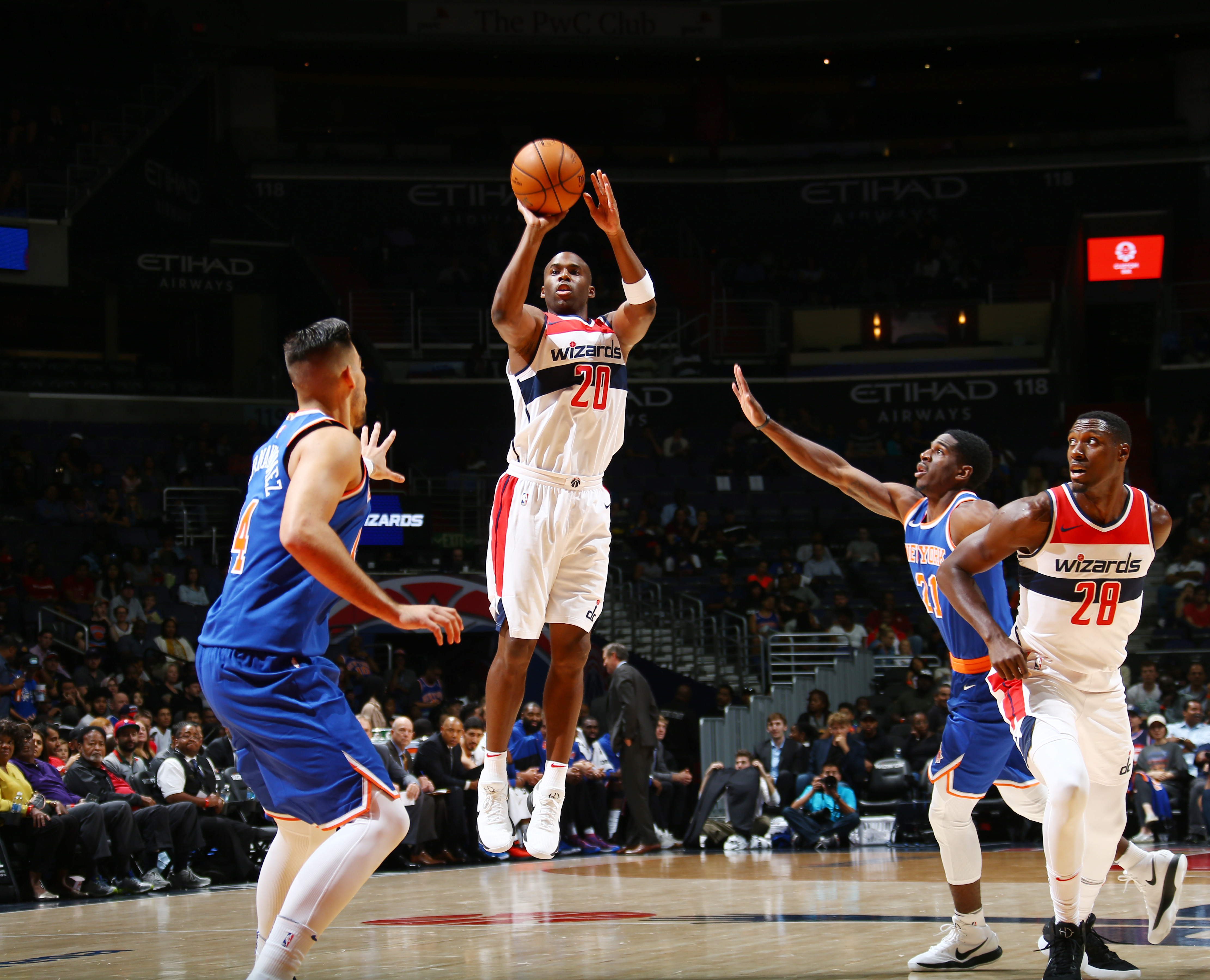 washington wizards bench has improved significantly